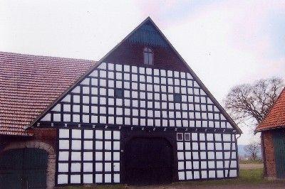 Fachwerkgebäude, Hof in Köhlte-Unterlübbe